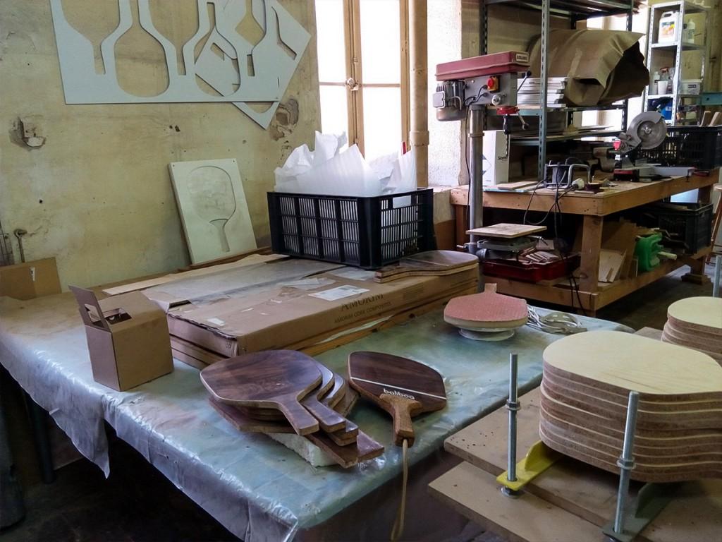 Handmade wood matkot - Baliboa