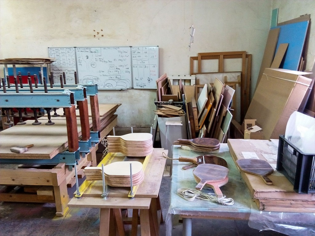 Handmade wood paddel - Baliboa