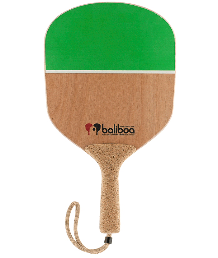 Beach racquet Bioman green