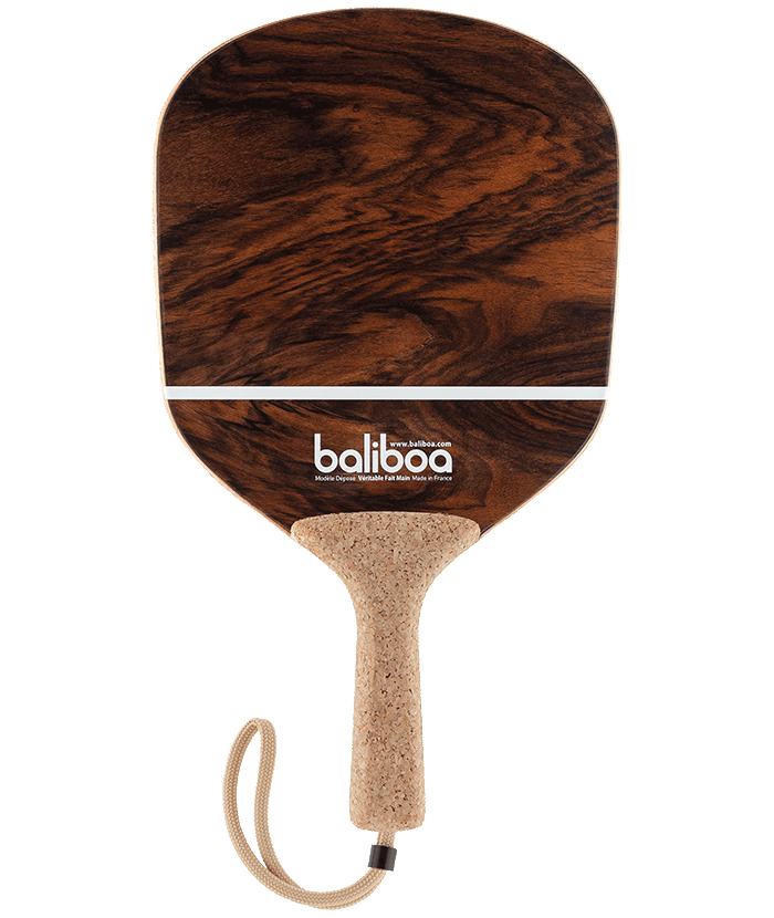 Frescobol wood beach bat by Baliboa