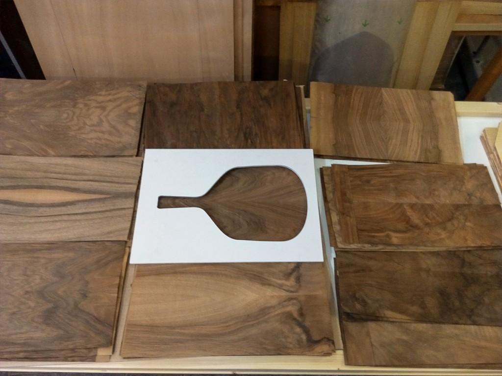 Handmade wood padel - Baliboa