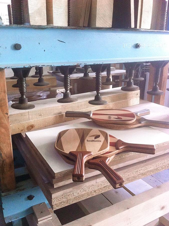 Handmade wood racquet - Baliboa