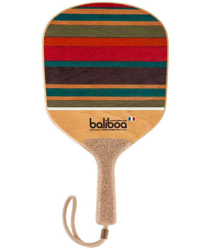 Beach racquet striped collector by Baliboa